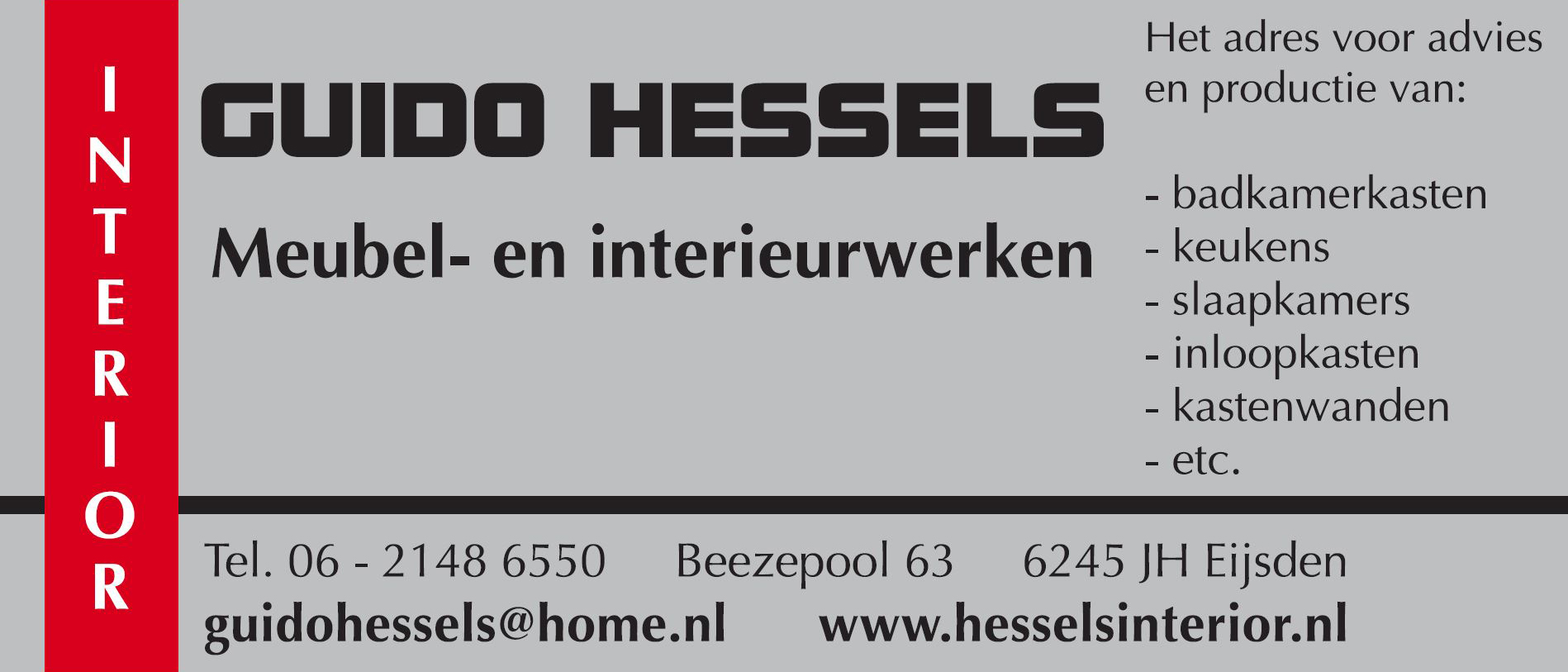 Guido Hessels is sponsor van DVC '16